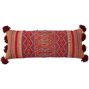 Chinchero Bolster Cushion Cover - Multi (35 x 90cm)