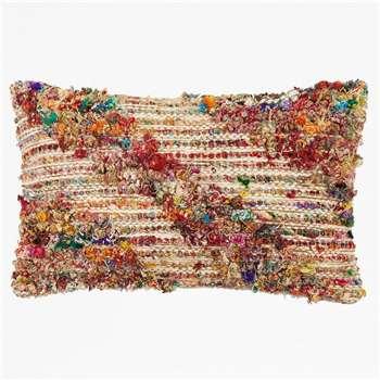 Chindi Woven Cushion - Multi (H35 x W55cm)