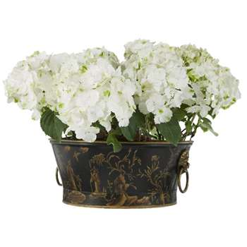 Chinoiserie Planter, Large (15 x 37cm)