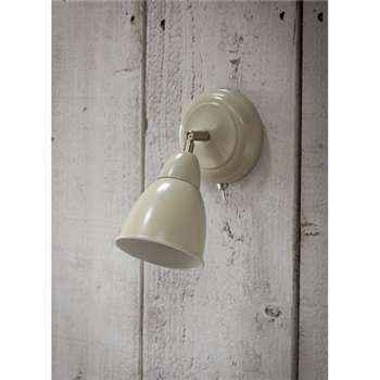 Chiswick Wall Light in Clay - Steel (19 x 10.5cm)