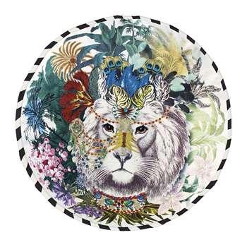 Christian Lacroix - Opiat Round Cushion - Jungle King (Diameter 45cm)