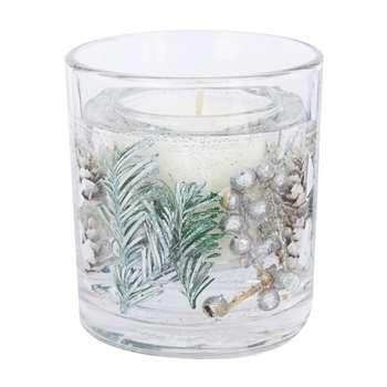 Christmas Pomander Gel Candle (H9 x W8 x D8cm)