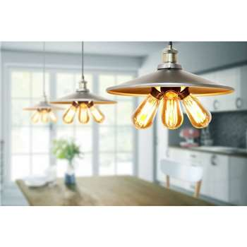 Christophe Tri-bulb Pendant Light (150 x 36cm)