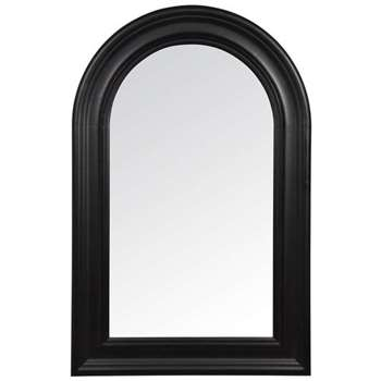 Church Mirror Black (80 x 52cm)