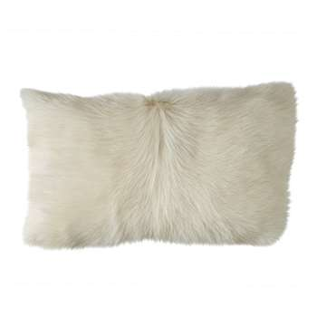 Chyangra Goat Hair Cushion Cover - Albino (30 x 50cm)