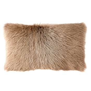 Chyangra Goat Hair Cushion Cover - Fawn (30 x 50cm)
