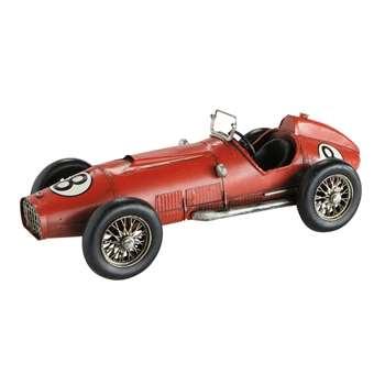 CIRCUIT metal car in red (10 x 14cm)