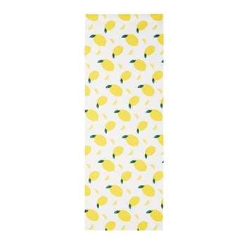 CITRUS Lemons Print Deckchair Canvas (44 x 124cm)