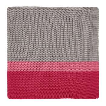 Clarissa Hulse - Espinillo Knitted Throw - Hot Pink (H130 x W170cm)