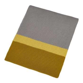 Clarissa Hulse - Espinillo Knitted Throw - Turmeric (H130 x W170cm)