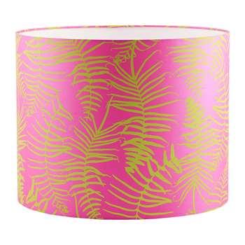 Clarissa Hulse - Feather Fern Lamp Shade - Neon/Chartreuse (24 x 31cm)