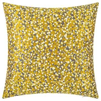 Clarissa Hulse - Garland Cushion - 45x45cm - Turmeric/Storm