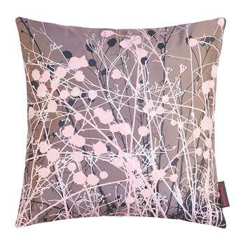 Clarissa Hulse - Mystras Cushion - Storm/Smoke/Pink/Silver (45 x 45cm)