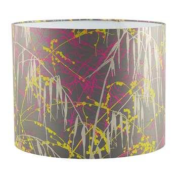 Clarissa Hulse - Three Grasses Lamp Shade - Storm/Neon/Sulphur (24 x 31cm)
