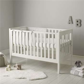 Classic Cot Bed - White (Width 147cm)