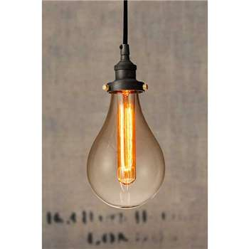 Claude Vintage Pendant Light (29 x 13cm)