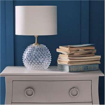 Clear Diamond Tip Table Lamp (H17 x W17cm)