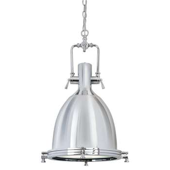 Clement Industrial Pendant Light (H60 x W30 x D30cm)