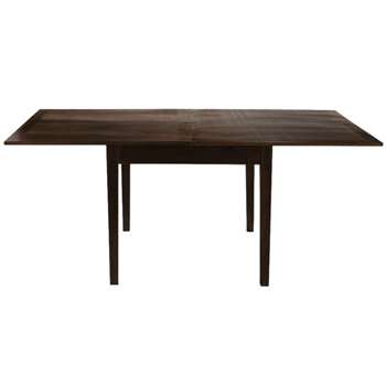 CLIC-CLAC Wooden extending dining table (77 x 90-180cm)