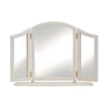 Clifton Ivory Triple Mirror 56 x 80cm