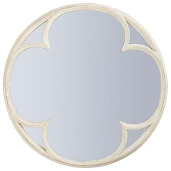 Clover Mirror - Distressed (Diameter 104cm)