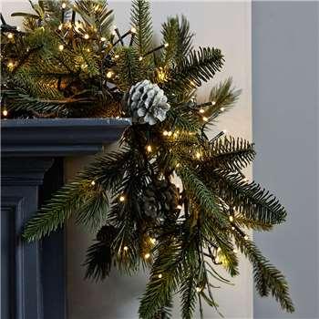Cluster Christmas Tree Lights - 2000 Bulbs (Length 25m)