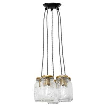 cluster-of-five-vintage-hanging-jar-lights (Jar Diameter 9.5cm)