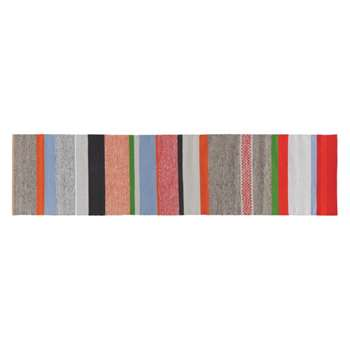 Coates Multi-coloured stripe cotton runner