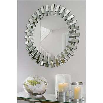 Cog Wall Mirror (H90 x W90 x D4cm)