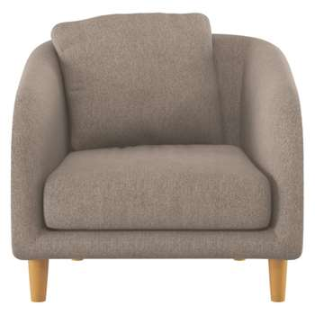 Colby Natural fabric armchair
