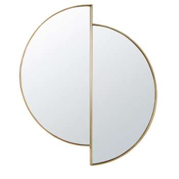 COLEEN - Fragmented Golden Metal Mirror (H97 x W86 x D3cm)