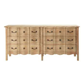 COLETTE Mango wood chest of drawers (90 x 200cm)