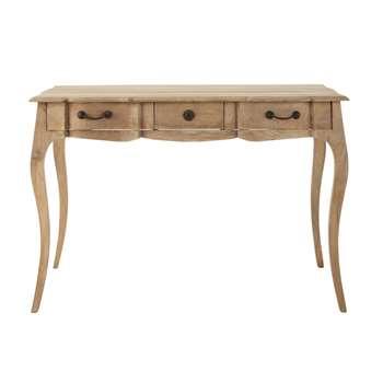COLETTE Mango wood writing desk (80 x 120cm)
