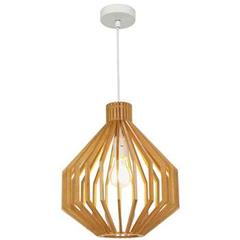 Collection Anders Wooden Pendant Ceiling Light (100 x 30cm)
