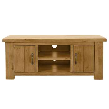 Argos Home Arizona 2 Door Solid Pine Low Sideboard (H50 x W120 x D44cm)