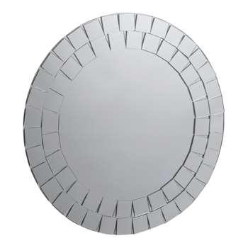 Collection Round Mosaic Bathroom Mirror (40 x 40cm)