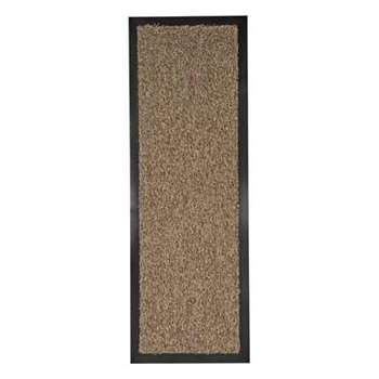 Argos Home Washable Absorbing Runner - Brown (H60 x W80cm)