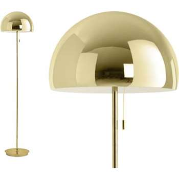 Collet Floor Lamp, Brass (150 x 35cm)