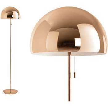 Collet Floor Lamp, Champagne Copper (150 x 35cm)