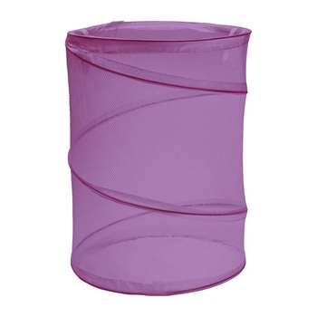 ColourMatch 60 Litre Laundry Bin - Grape 53 x 35cm