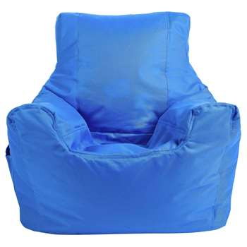 ColourMatch Teenager Beanbag - Blue (H70 x W65 x D65cm)