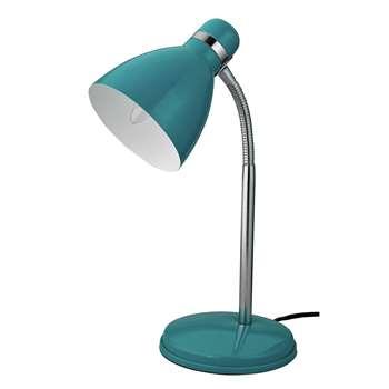 ColourMatch Desk Lamp - Teal (H38 x W15 x D14.7cm)