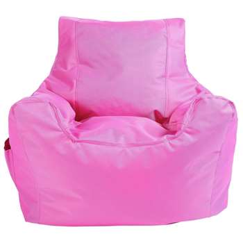 ColourMatch Teenager Beanbag - Pink (H70 x W65 x D65cm)