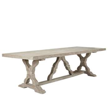 Conisbrough Dining Table - Grey (75 x 260cm)