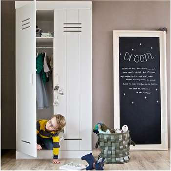 Connect Contemporary 2 Door Locker Cabinet with Storage 195 x 94cm