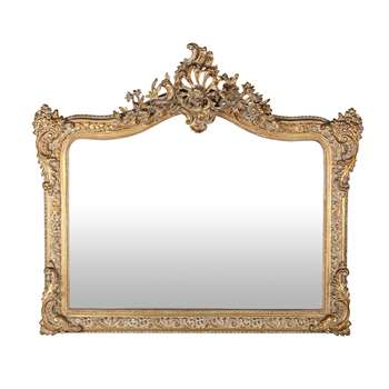 CONSERVATOIRE Mirror with Gold Mouldings (H100 x W114 x D13cm)