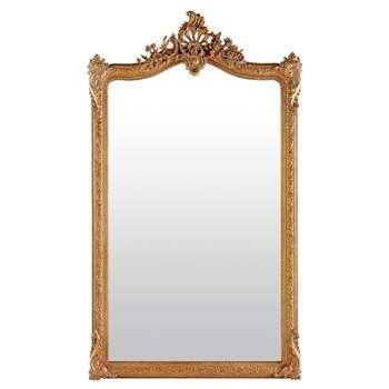 CONSERVATOIRE - Mirror with Gold Mouldings (H185 x W104 x D15cm)