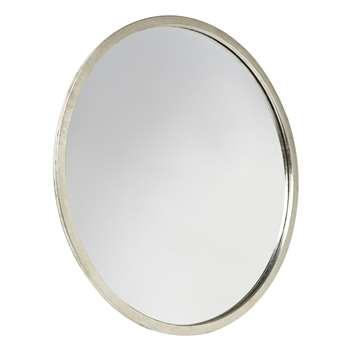 Constance Small Round Mirror Silver (Diameter 60cm)
