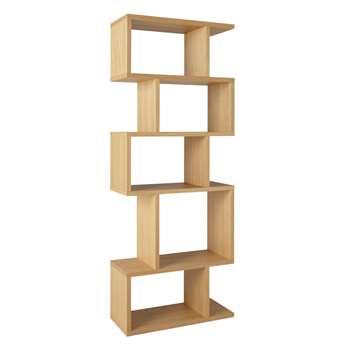 Content by Terence Conran Balance Alcove Shelving Unit, FSC-Certified (Oak Veneer), Oak (H180 x W70 x D30cm)