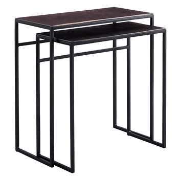 Content by Terence Conran Fusion Rectangle Nest of 2 Tables (Width 56cm)